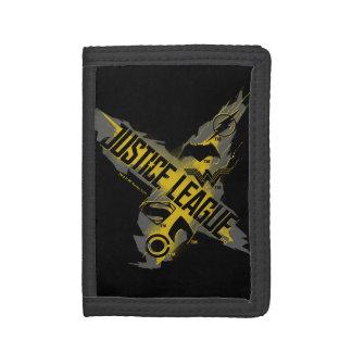 Justice League   Justice League & Team Symbols Tri-fold Wallet