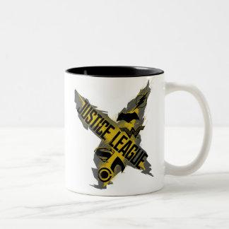Justice League | Justice League & Team Symbols Two-Tone Coffee Mug
