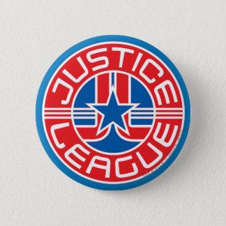 Justice League Logo 6 Cm Round Badge