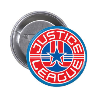 Justice League Logo 6 Cm Round Badge