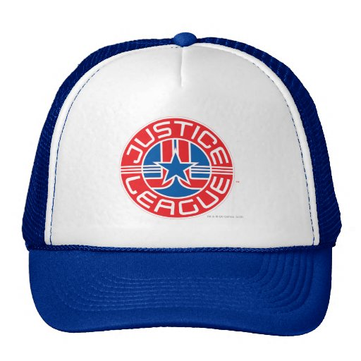 Justice League Logo Mesh Hats