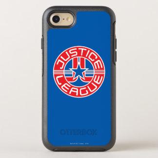 Justice League Logo OtterBox Symmetry iPhone 7 Case