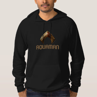 Justice League | Metallic Aquaman Symbol Hoodie