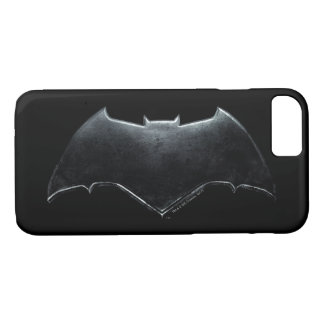 Justice League | Metallic Batman Symbol iPhone 8/7 Case
