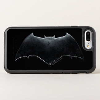 Justice League | Metallic Batman Symbol OtterBox Symmetry iPhone 8 Plus/7 Plus Case