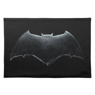 Justice League | Metallic Batman Symbol Placemat