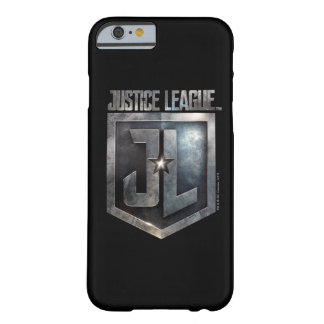 Justice League | Metallic JL Shield Barely There iPhone 6 Case