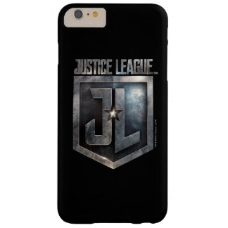 Justice League | Metallic JL Shield Barely There iPhone 6 Plus Case