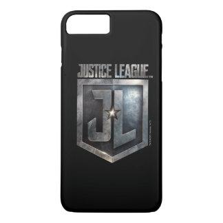 Justice League | Metallic JL Shield iPhone 8 Plus/7 Plus Case