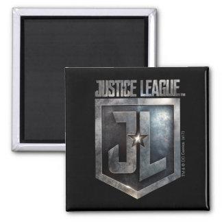 Justice League | Metallic JL Shield Magnet