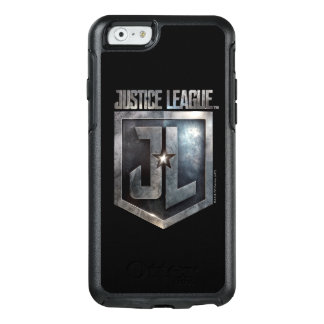 Justice League | Metallic JL Shield OtterBox iPhone 6/6s Case