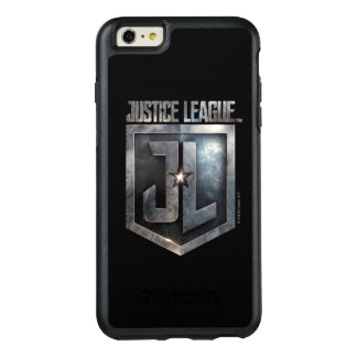 Justice League | Metallic JL Shield OtterBox iPhone 6/6s Plus Case