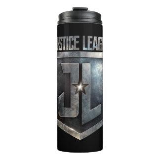 Justice League | Metallic JL Shield Thermal Tumbler