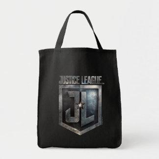 Justice League | Metallic JL Shield Tote Bag