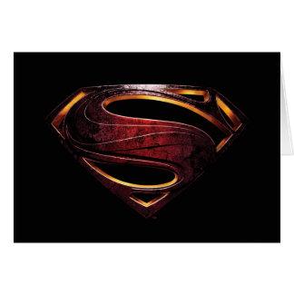 Justice League | Metallic Superman Symbol Card