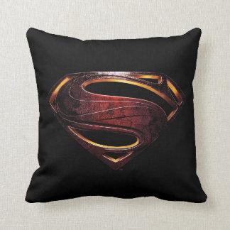 Justice League | Metallic Superman Symbol Cushion