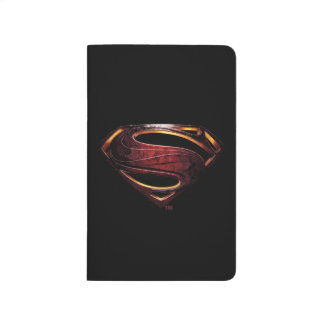 Justice League | Metallic Superman Symbol Journal