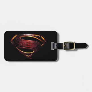Justice League | Metallic Superman Symbol Luggage Tag