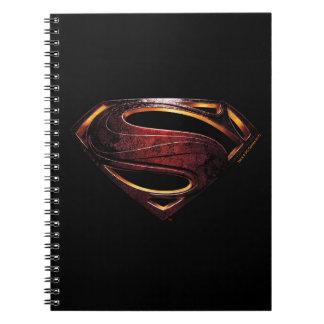 Justice League | Metallic Superman Symbol Notebooks