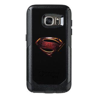 Justice League | Metallic Superman Symbol OtterBox Samsung Galaxy S7 Case