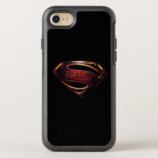 Justice League | Metallic Superman Symbol OtterBox Symmetry iPhone 8/7 Case