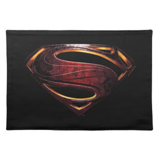 Justice League | Metallic Superman Symbol Placemat