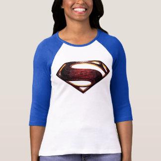 Justice League   Metallic Superman Symbol T-Shirt