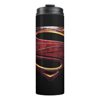 Justice League | Metallic Superman Symbol Thermal Tumbler