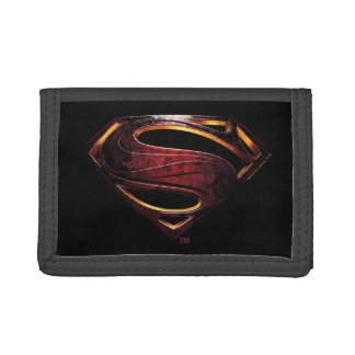 Justice League | Metallic Superman Symbol Tri-fold Wallet