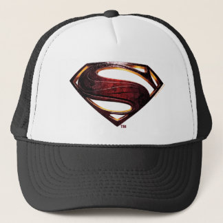 Justice League   Metallic Superman Symbol Trucker Hat