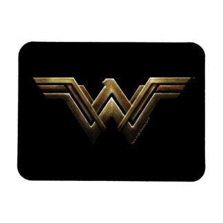 Justice League | Metallic Wonder Woman Symbol Magnet