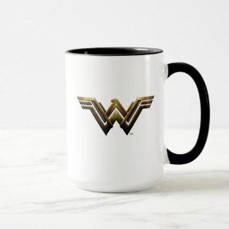 Justice League | Metallic Wonder Woman Symbol Mug