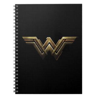 Justice League | Metallic Wonder Woman Symbol Notebook