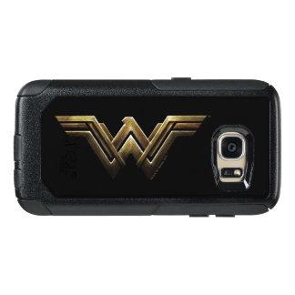 Justice League | Metallic Wonder Woman Symbol OtterBox Samsung Galaxy S7 Case