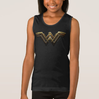 Justice League | Metallic Wonder Woman Symbol Singlet