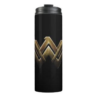 Justice League | Metallic Wonder Woman Symbol Thermal Tumbler