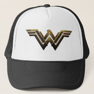 Justice League | Metallic Wonder Woman Symbol Trucker Hat