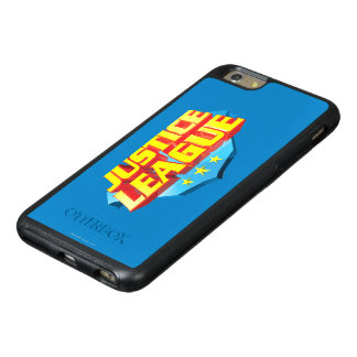 Justice League Name and Shield Logo OtterBox iPhone 6/6s Plus Case