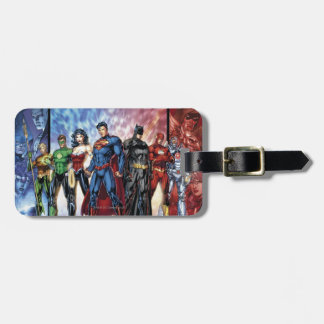 Justice League | New 52 Justice League Line Up Luggage Tag