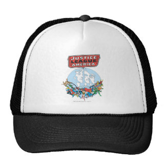 Justice League of America Group Trucker Hat