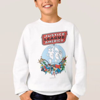Justice League of America Group Sweatshirt