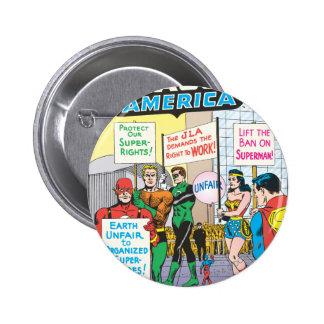 Justice League of America Issue #28 - June 6 Cm Round Badge