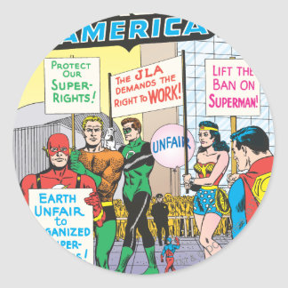 Justice League of America Issue #28 - June Round Sticker