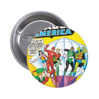 Justice League of America Issue #4 - May 6 Cm Round Badge