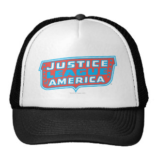 Justice League of America Logo Hats