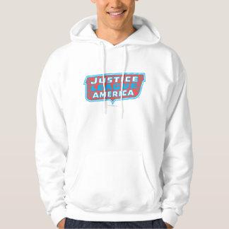 Justice League of America Logo Hoodie
