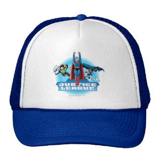 Justice League Power Trio Cap