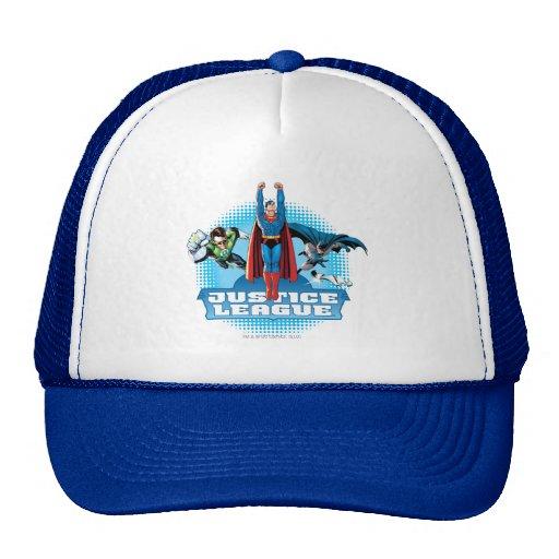 Justice League Power Trio Mesh Hat