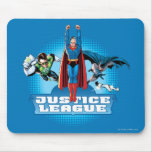 Justice League Power Trio Mouse Pad