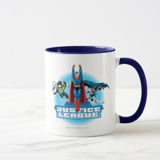 Justice League Power Trio Mug